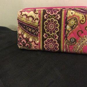 Fabric ladies wallet